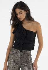 ISLA TOP - BLACK