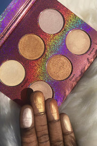 WET HIGHLIGHTING palette.