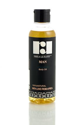 Mens Lemongrass Shea Oil