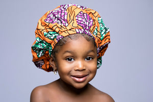 "Maya ""KIDDIES"" Ankara Bonnet"