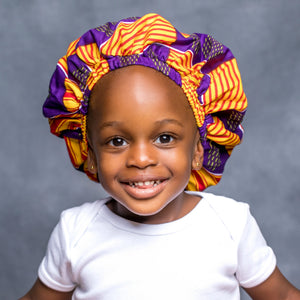 "MASON ""KIDDIES"" ANKARA BONNET"