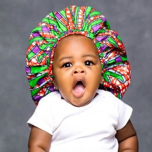 "SIMI ""KIDDIES"" ANKARA BONNET"