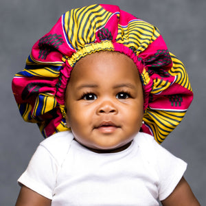 "JADE ""KIDDIES"" ANKARA BONNET"