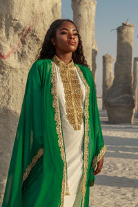 "Kismath ""EMERALD"" Kaftan/Abaya Set"