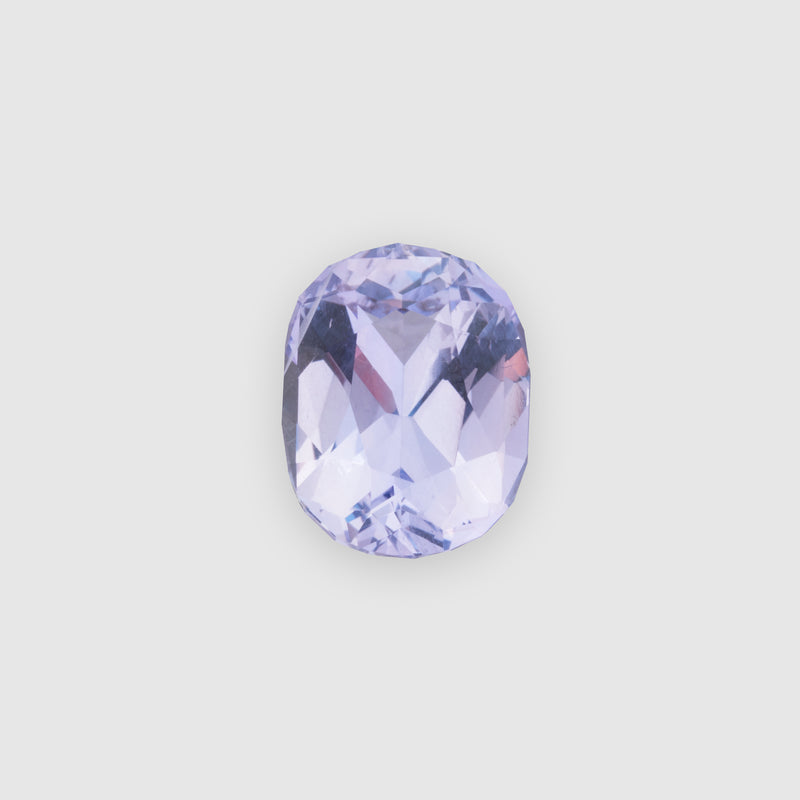 3.75ct Oval-Shaped Light Purple Sapphire