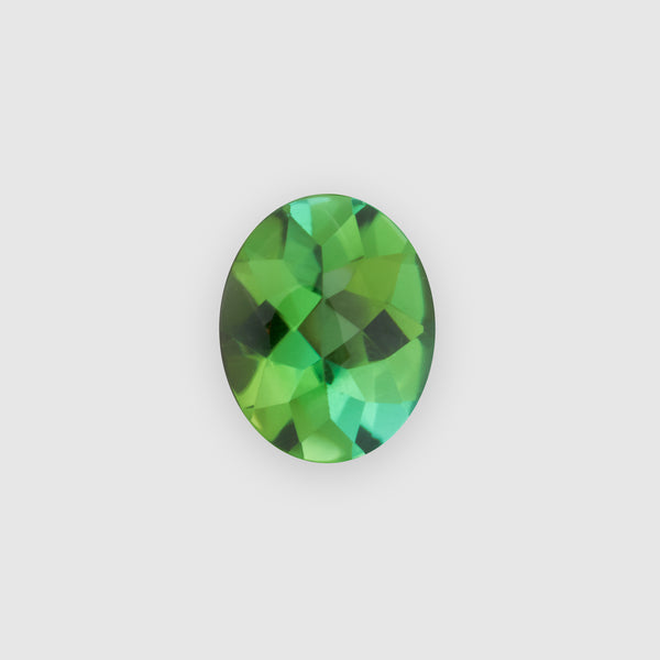 1.88ct Oval-Shaped Buff-Top Green Tourmaline