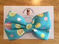 Blue Easter Egg Bow Tie
