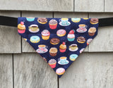 Boston Dog Bandanas™ Donuts and Cupcakes Bandana