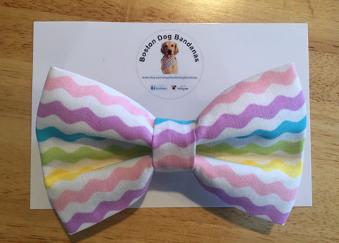 Easter Vibes Pastel Bow Tie