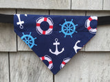 Boston Dog Bandanas™ Nautical Bandana