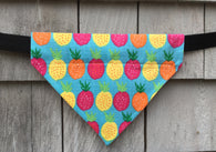 Boston Dog Bandanas™ - Tropical Pineapples Bandana
