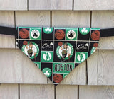 Boston Sports Bundle Set of 3 Dog Bandanas - Red Sox, Patriots, and Celtics Dog Gift