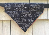 Dog Bandana - Scarf - Star Wars - Slides through the Collar - Pet Scarf - Dog Gift