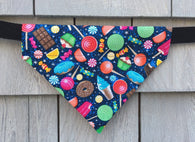Dog Bandana - Scarf - Sweet Dreams -  Cupcakes Donuts  - Dog Gift