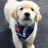 Dog Bandana - Scarf - New England Patriots Football -  Dog Gift