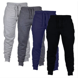 Grey - Casual Fit Jogging Trousers
