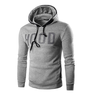 """THE HOOD"" Slim Hoody Jumper - Grey"