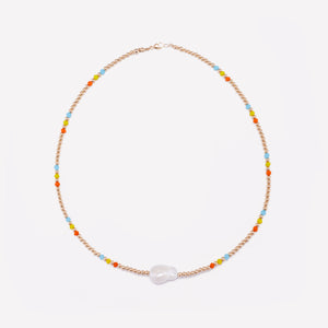 AQUA MILA RAINBOW NECKLACE 3MM