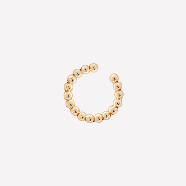 ZARA YELLOW GOLD EAR CUFF