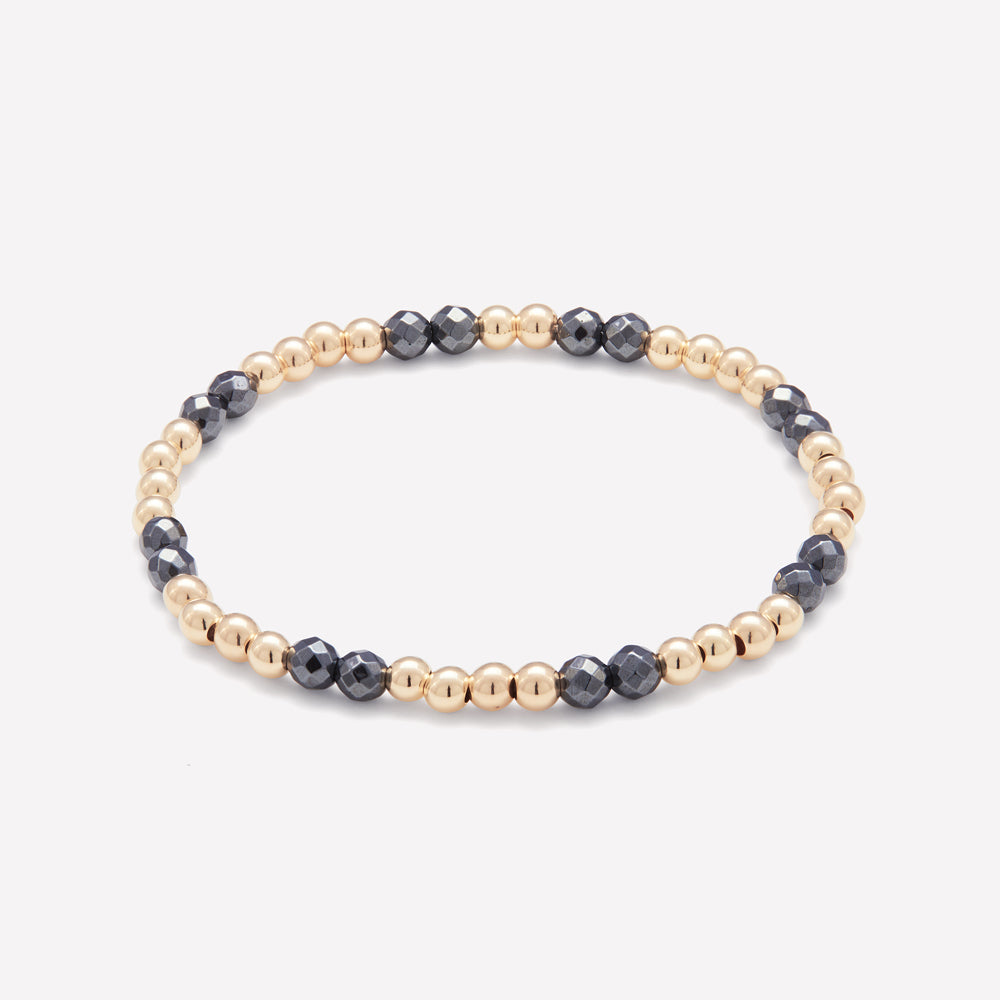 BELLA YELLOW GOLD BRACELET