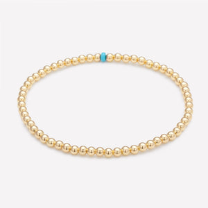 ELSA  YELLOW GOLD ANKLET