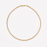 MILA YELLOW GOLD CHOKER 3MM