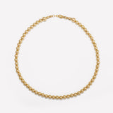 MILA YELLOW GOLD CHOKER 5MM