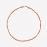 MILA ROSE GOLD CHOKER 4MM