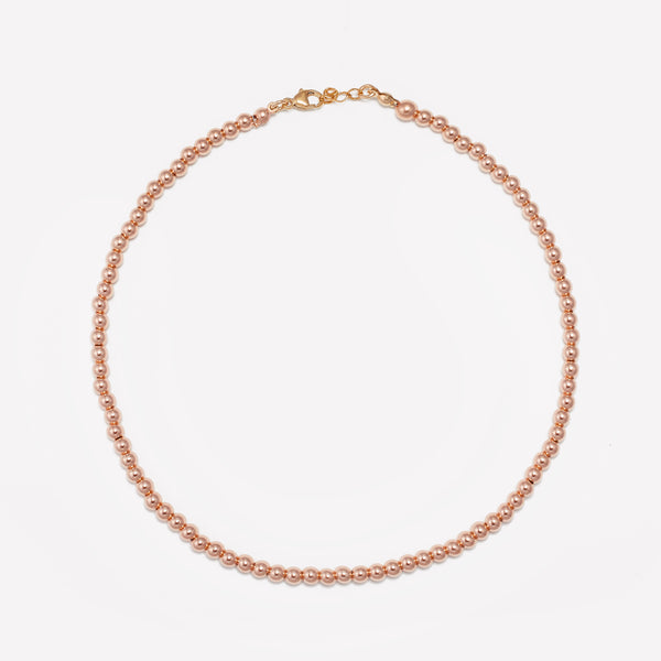 MILA ROSE GOLD CHOKER 4MM (CHILD)