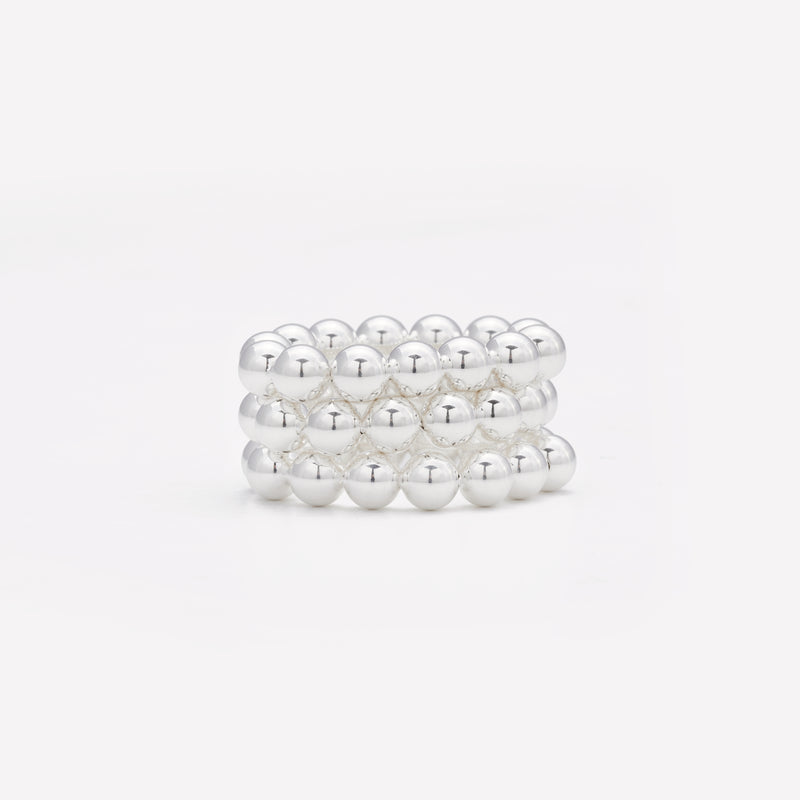 KAMILLA SILVER RING 5MM