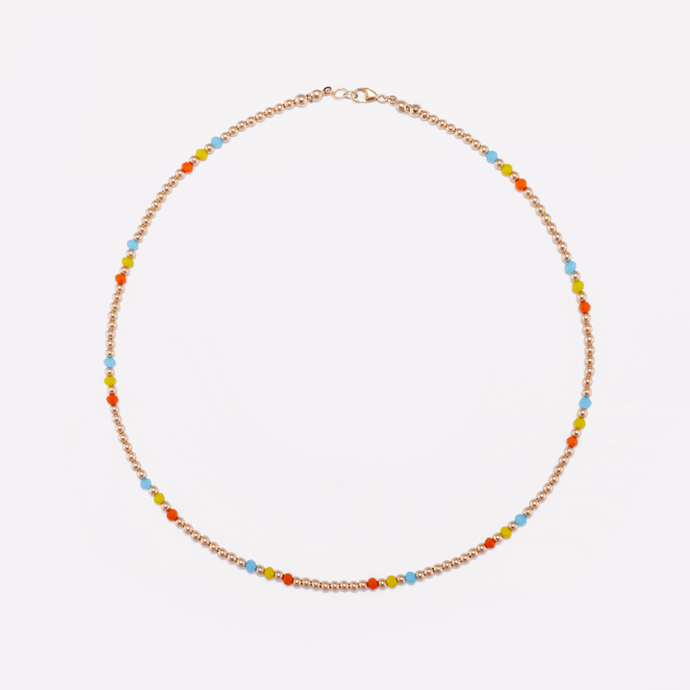 MILA RAINBOW NECKLACE 3MM