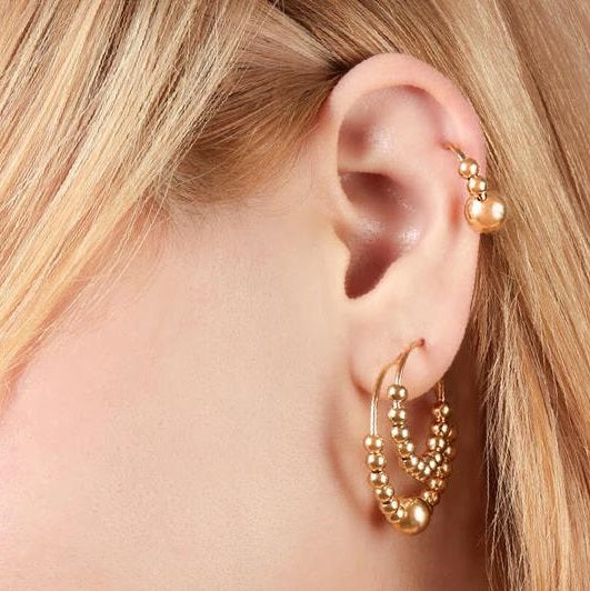 CELINE 30MM EARRING