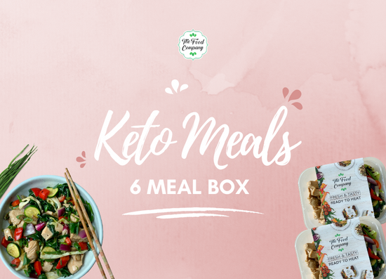 Keto Meal 6 Meal Box - The Food Company