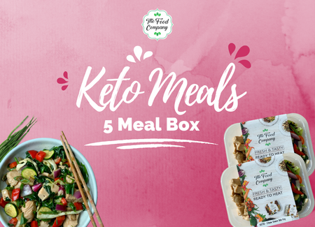 Keto 5 Meal Box - The Food Company