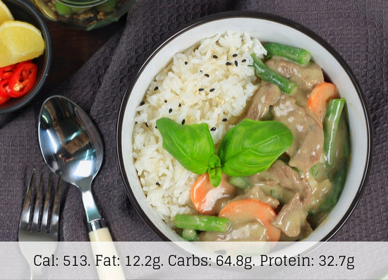 Thai Green Beef Curry - The Food Company