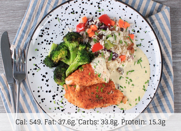 Herb Crusted Fish (Low Carb) - The Food Company