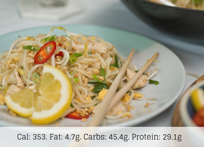 Chicken Pad Thai (Low Carb) - The Food Company