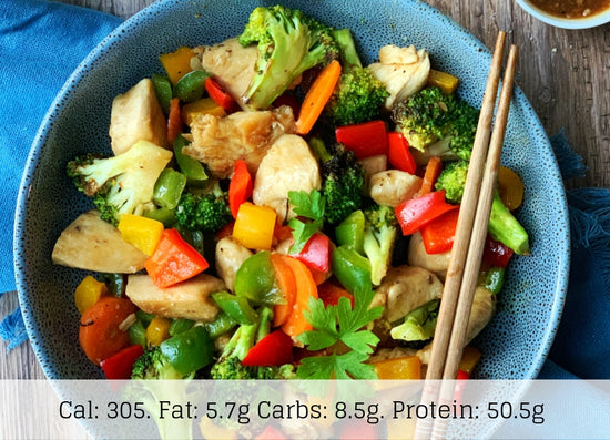 Chicken Stir Fry (Low Carb) - The Food Company