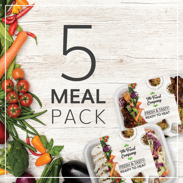 Weekly Meal Pack | 6 Meals - The Food Company
