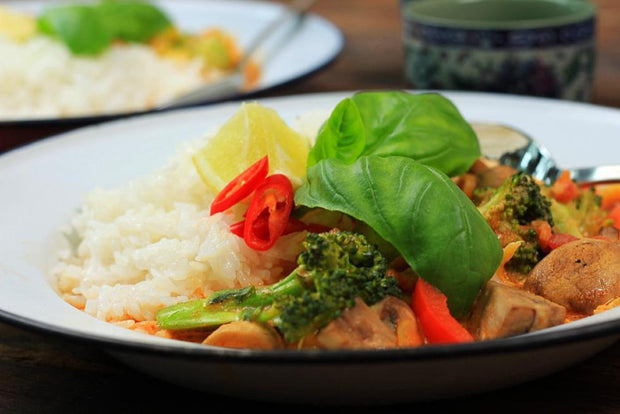 Thai Red Veg Curry