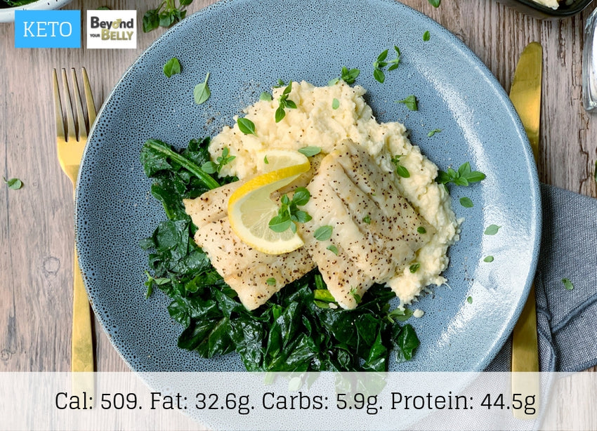 KETO - Fish & Cauliflower Mash - The Food Company