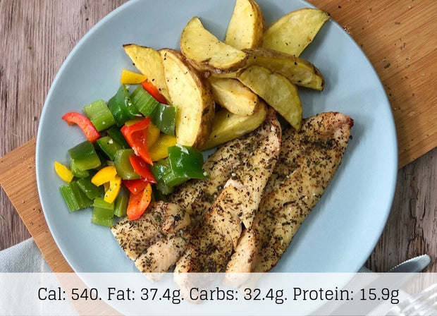Fish & Chips (Low Carb) - The Food Company