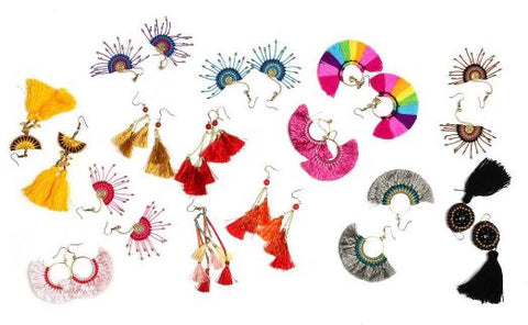 ethnic lanna earring collection