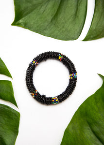 Beaded Maasai Bangle