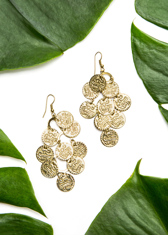 Delhi Disk Earrings