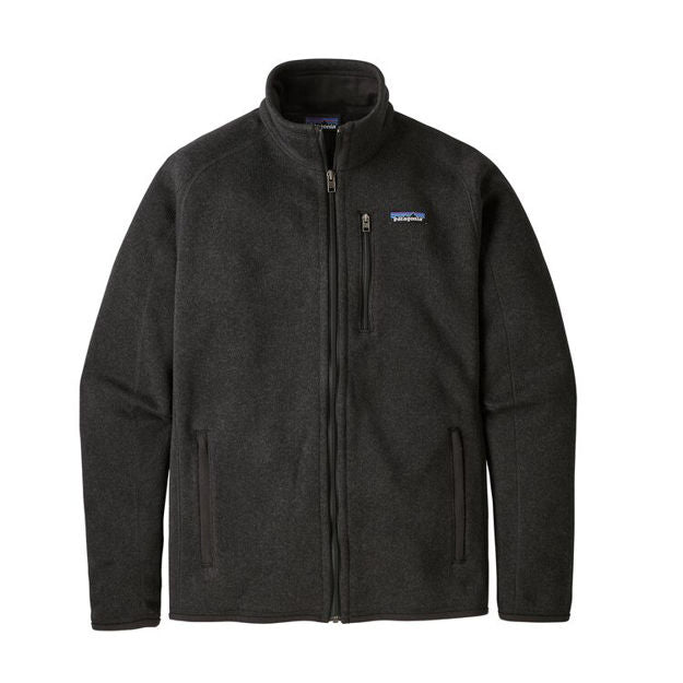 Patagonia Better Sweater Jacket Black - Stencil