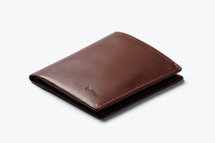 Bellroy Note Sleeve Wallet Cocoa - RFID - Stencil