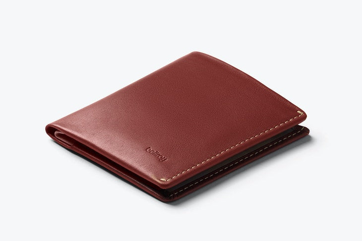 Bellroy Note Sleeve Wallet Red Earth - RFID - Stencil