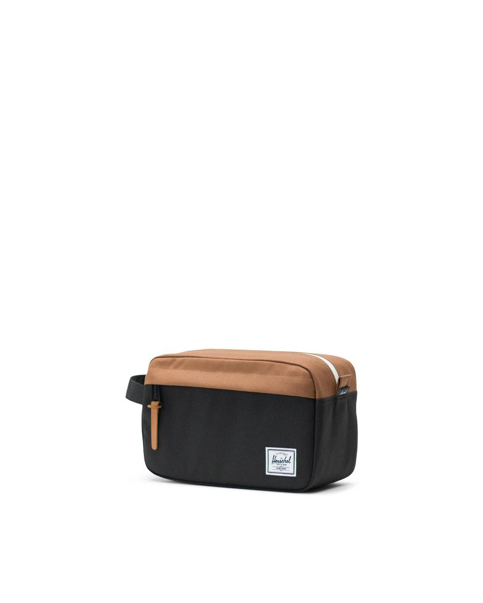 Herschel Chapter Black/Saddle Brown