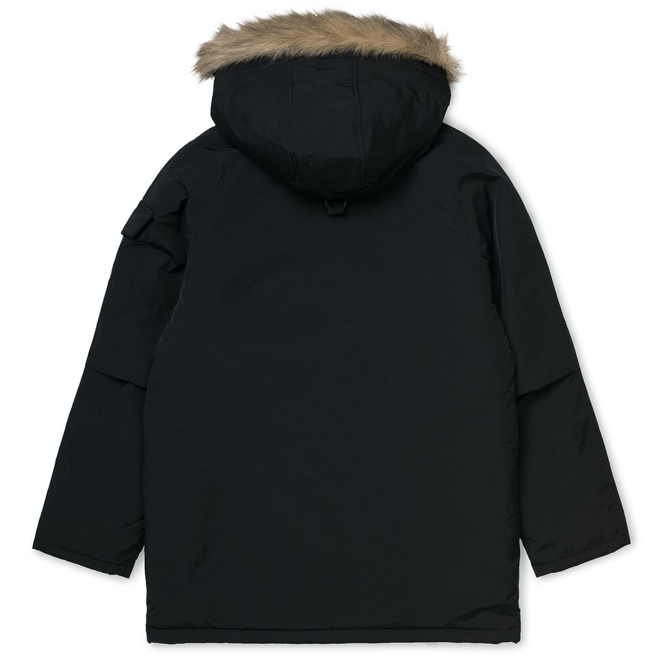 Carhartt Anchorage Parka Black/Black - Stencil